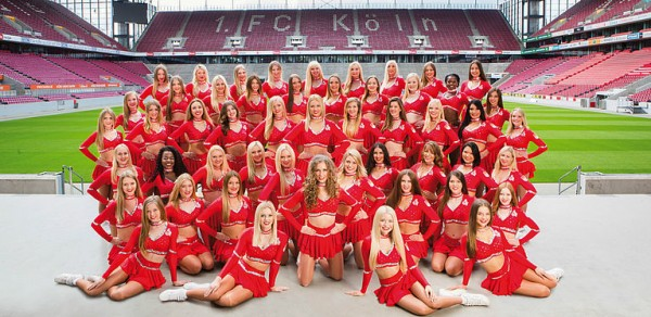 Cheerleader 1. FC Köln